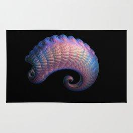 3D Fractal Curl Rug