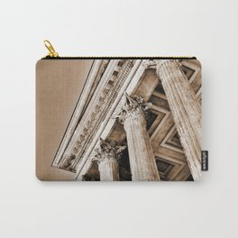 Ancient Roman Temple Nimes Provence France Sepia Carry-All Pouch