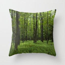 Midst of Summer Throw Pillow