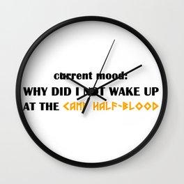 Camp Half-Blood (Percy Jackson) Wall Clock