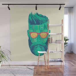 He That Hath No Beard Wall Mural