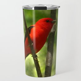 Scarlet Tanager Travel Mug