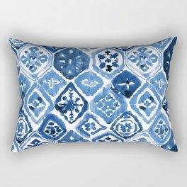 Arabesque tile art Rectangular Pillow