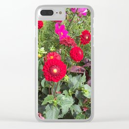 London Gardens Clear iPhone Case