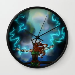 Control Weather Wall Clock