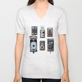 Camera Collection Unisex V-Neck