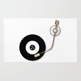 Record And Arm Rug
