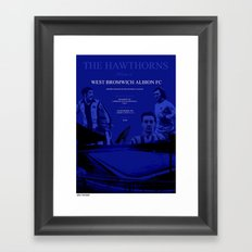 The Hawthorns, Home of Framed Art Print