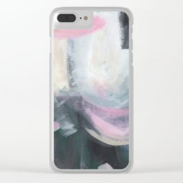 Bubblegum Sky Clear iPhone Case