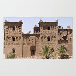 Kasbah in Morocco Rug