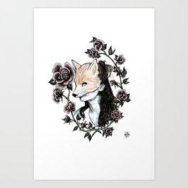 FoxyLady Art Print