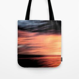 Sunset . Abstraction . Tote Bag