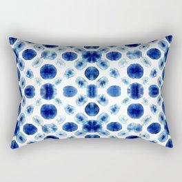 Shibori Circles Rectangular Pillow