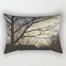 Afternoon Park  Rectangular Pillow