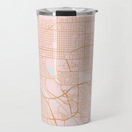 Colorado Springs map Travel Mug