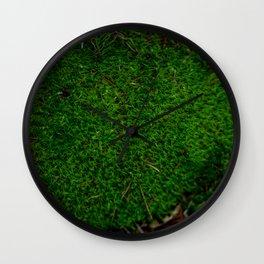 Bossy Mossy Wall Clock