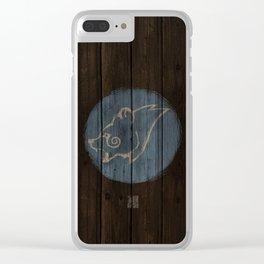 Bear Shield Clear iPhone Case