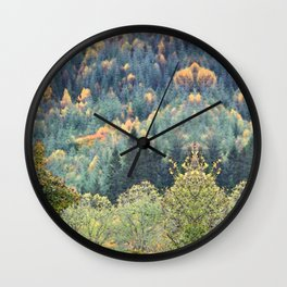 Highland Fling Wall Clock