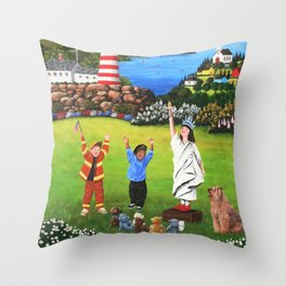 Beacons of Hope Throw Pillow