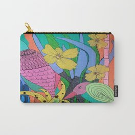Shifty Eyed Carry-All Pouch