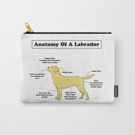 Anatomy Of A Labrador Carry-All Pouch