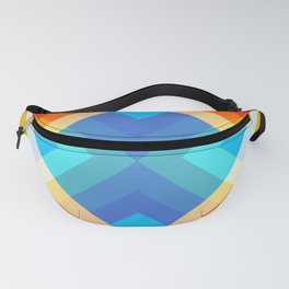 Retro Pattern 09 Fanny Pack