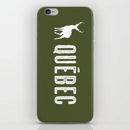 Deer: Quebec, Canada iPhone Skin