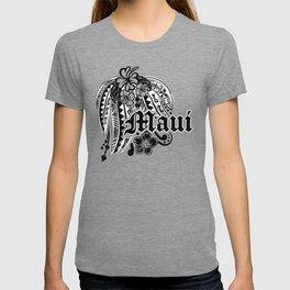 Maui Poly Tribal Distressed T-shirt