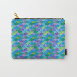 Mermaid Scales Multi Carry-All Pouch