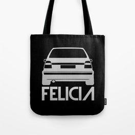 Skoda Felicia - silver - Tote Bag