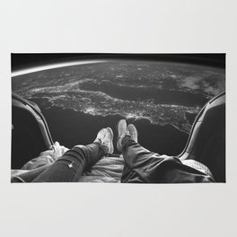 Lost in Space Over Italy Rug