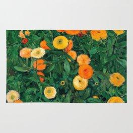 Marigolds by Koloman Moser, 1909 Rug