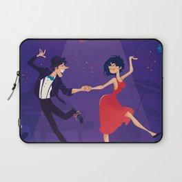 Dancing night couple Laptop Sleeve