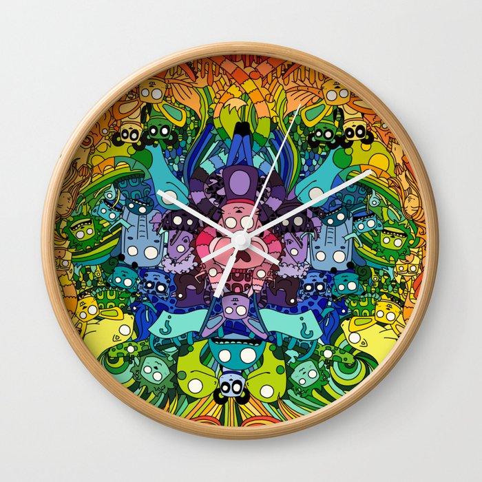 Life, unexpected Wall Clock