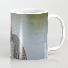 Heron in the Slough II Coffee Mug