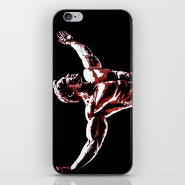 Arnold Schwarzenegger Portrait Pop  iPhone Skin