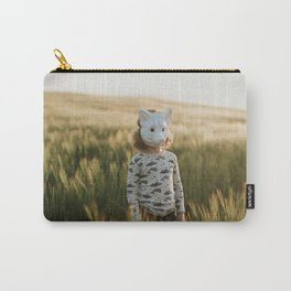 Barley ears and fox cubs Carry-All Pouch
