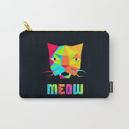 That Cat Face Says Meow Carry-All Pouch