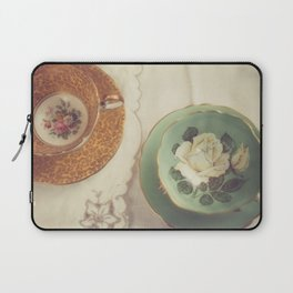 Two Teacups Laptop Sleeve