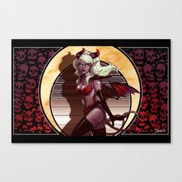Funkyfresh - Faux Art Nouveau Canvas Print