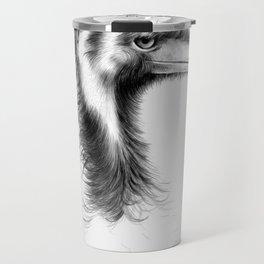 Emu Drawing Travel Mug