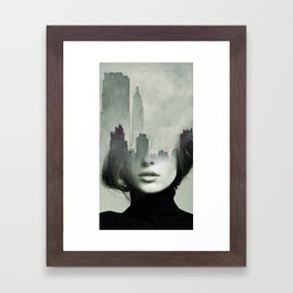Ny again Framed Art Print