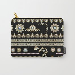 Jewelry . Pearls and gold . Carry-All Pouch