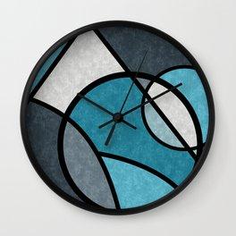 Dark night , abstract Wall Clock