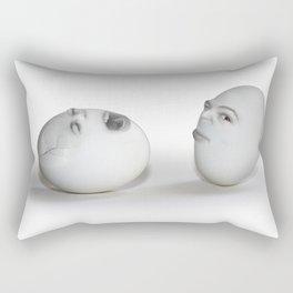 Cracked Egg & a Wink Rectangular Pillow