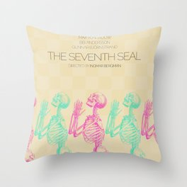 The Seventh Seal Throw Pillow