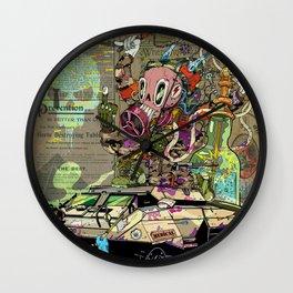Warpath Wall Clock