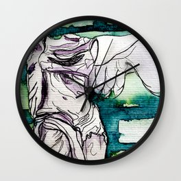 Winged Victory of Samothrace Wall Clock