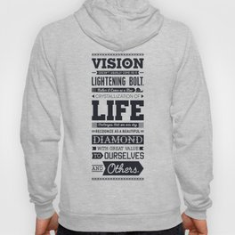 Lab No. 4 Vision Does Usually Dr. Michael Norwood Life Motivational Quotes Hoody