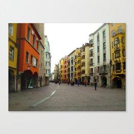Innsbruck Street 2014 Canvas Print